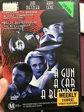 A Gun A Car A Blonde ex-rental region 4 DVD (1997 drama movie) * rare *