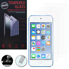 3X Tempered Glass for Apple iPod Touch 5/5G Genuine Glass Screen Protector