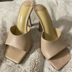 Tony Bianco Bosco Skin Capretto Heels Mules