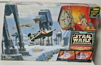 Galoob Star Wars Micro Machines Action Fleet Set Ice Planet Hoth 1996  FREE SHIP