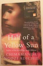 Half of a yellow sun by Chimamanda Ngozi Adichie book