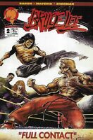 Bruce Lee Comic 2 Cover A First Print 1994 Mike Baron Val Mayerik Malibu