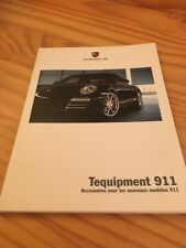 Porsche 911 Tequipment accesorios catálogo folleto prospekt francesa 08/08