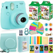FujiFilm Instax Mini 9 Instant Camera + 40 Fuji Film + Full Accessory Kit