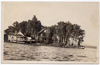 Real Photo Postcard Homes in or near Pleasant Point, Maine~107171