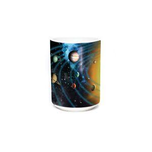 The Mountain 15oz White Ceramic Space Mug Solar System