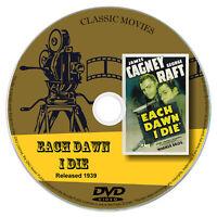 Each Dawn I Die 1939 Classic DVD Film - Crime, Drama, Film-Noir