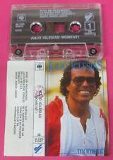 MC JULIO IGLESIAS Momenti 1982 italy 40 CBS 85943 no cd lp vhs