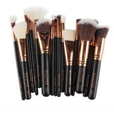 15pcs Cosmetic Makeup Brush Blusher Eye Shadow Brushes Set Kit Black