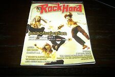 ROCK HARD MAGAZINE 1/2007 PAIN OF SALVATION DEATH CHUCK SCHULDINER