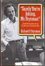 "Richard P. Feynman~""SURELY YOU'RE JOKING, MR FEYNMAN!""~1ST/DJ~NICE COPY"