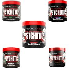 insane Labz Psychotic Pre-Workout (35 Servings) - ANY FLAVOR ***CLUMPY***
