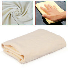 Auto Car Cleaning Chamois Cloth Drying Buffing Washing Synthetic Leather Shammy
