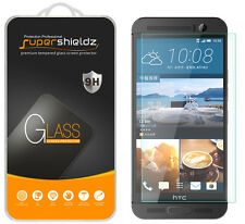 2X Supershieldz Tempered Glass Screen Protector Saver For HTC One M9+ (Plus)