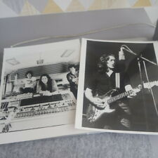 More details for 2 x rory gallagher original press promotional photographs 205mm x 250mm (c.1981)
