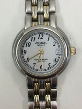 Working Ladies Silver and Gold Acqua by Timex Quartz Watch  CA