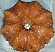 "Maple Pecan Bourbon Cake - Homemade 8"" ask for other flavors Made to order"