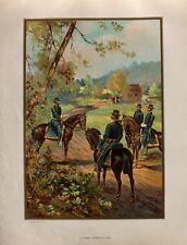 USA Army Civil War Bürgerkrieg General Offizier Uniform Kavallerie Confederate