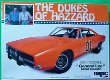 Dukes of Hazzard General Lee 1969 Dodge Charger, MPC 1/16th Super Scale F/S