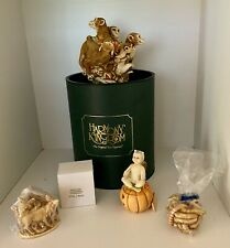 Harmony Kingdom Collectibles Set Of 5 Including Retired & Limited Edition Pieces