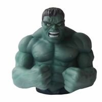 MARVEL SUPER HERO HULK RESIN BUST 3D MONEY BOX NEW 7 INCH INCREDIBLE.