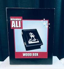 Muhammad Ali Wooden Keepsake Box with Inlaid Tile Lid BRAND NEW