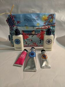 L'Occitane Shea Favorites Mini samples set of 5 plus gift bag