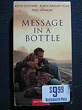 Message in a Bottle [VHS Tape] [1999] Kevin Costner Paul Newman