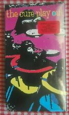 THE CURE *PLAY OUT* SEALED USA NTSC-VHS VIDEO+TITLE STICKER 1992 L@@K