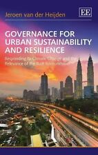 Governance for Urban Sustainability and Resilience: Responding to Climate Change