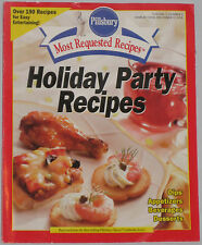Pillsbury Most Requested Recipes Volume 3,Number 2 1998 Holiday Party Recipes VG
