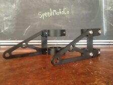SpeedMotoCo black 50mm 51mm headlight motorcycle bracket street fighter cafe
