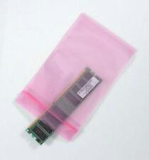"100 4""x6""  Anti Static Pink Reclosable Ziplock Bags 4mil HEAVYDUTY"