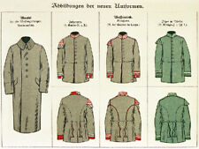 Field-Grey Uniforms of the Prussian Army & German States