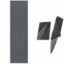 "Mob Skateboard Grip Tape Sheet 9"" x 33"" With Griptape Cutter Knife"