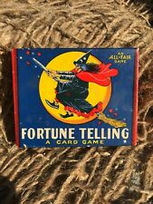 Vintage Halloween Fortune Telling - Card Game - Great Illustrations - Missing 1