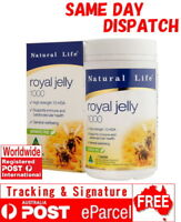 Natural Life Royal Jelly 1000 60 Capsules