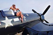 USN Navy 1 Airplane Aircraft Metal Diecast Model Vintage 72 War Bird 48