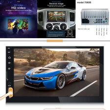 7inch 2 Din 7080B Car Stereo Radio FM/MP5 Player Bluetooth HD 1080P Touch Screen