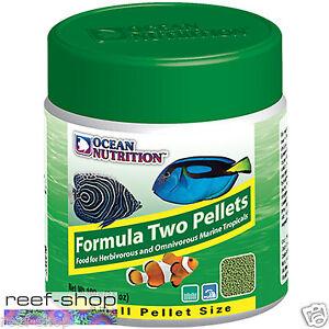 Ocean Nutrition Formula Two Pellets SMALL 100 grams (3.5 oz) Marine Fish Food