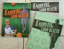 ABeka 5/5th Enjoying Good Health,3E.Text,test/quiz/wkst/Answer KEY 2009 CURR