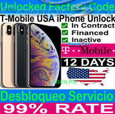 T-Mobile ✅ iPhone 12 Xs / Xs Max XR PREMIUM FACTORY UNLOCK SERVICE