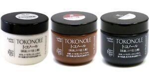Seiwa Tokonole Leathercraft Tragacanth Leather Burnishing Gum 120g Japan