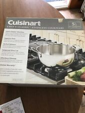 Cuisinart chefs classic stainless Cookware 5.5 Qt Multi-Purpose Pan