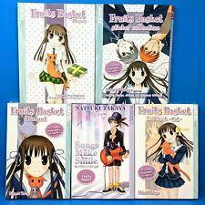 Fruits Basket Complete Fan Book 5 Set Planner Sticker Collection Manga Banquet