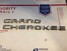 2016 Jeep Grand Cherokee Door Emblem Used