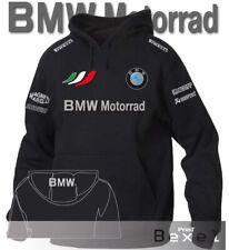 FELPA HOODIE PRINTED BMW MOTORRAD 2 SPORT TEAM ITALIA PER BMW FANS COL. NE