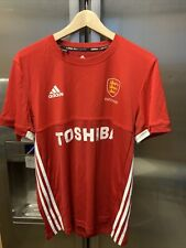 Mens Adidas Climacool Team Sports Red T Shirt Size M