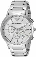 IMPORTED EMPORIO ARMANI AR2458 LUXURY WHITE CHRONOGRAPH MENS WATCH GIFT