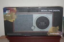 TIVOLI AUDIO M1DBLK ART MODEL ONE DIGITAL BLACK WIFI BT RADIO NORTH AMERICAN VER